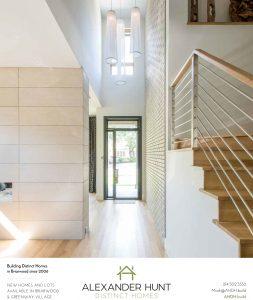 Alexander Hunt Homes Advertisements
